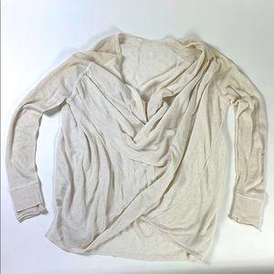 Lululemon Wrap Drape Neck Sweater Cardigan